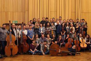 """Sesja nagraniowa płyty """"4 Works 4 Orchestra"""" w Studiach Polskiego Radia"""